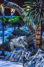 Séta a dinoszauruszokkal - Képek a látványos előadásról