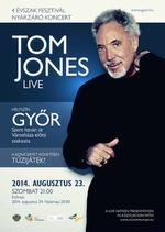 Tom Jones Győrben – szinte csak egy kanapét kért