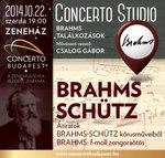Szerdán Brahms-találkozások koncert – jegyek itt
