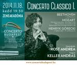 Rost Andreával folytatódik a Concerto Classico sorozat