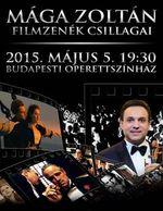 Országos turnéra indul Mága Zoltán: jegyek itt a Filmzenék Csillagai premierjéra