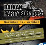 Jön a novemberi Évzáró Balkán Party!
