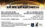 Rock-blues hétvége a Glob Royal klubban