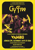 A Gozsduban koncertezik a londoni zenekar – a Cry Free is fellép
