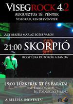 Újra dübörög a Skorpió – a VisegRock 4.2 fesztiválon