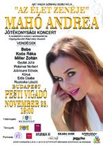 Sztárvendégekkel ad Jótékonysági koncertet Mahó Andrea