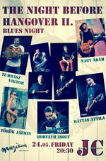 Pénteken Blues Night lesz a Muzikerben