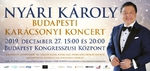 Budapesti Karácsonyi Koncert Nyári Károllyal – jegyek itt