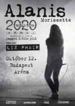 Alanis Morissette ad koncertet a Budapest Arénában! Jegyinfo itt!